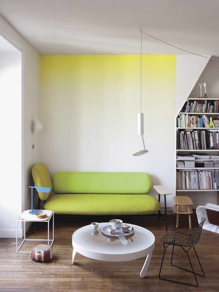 Wohnzimmer Ideen Wand Streichen Imposing On Und 65 Muster Streifen Struktureffekte 2