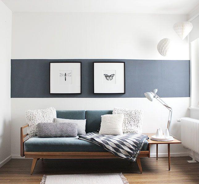 Wohnzimmer Ideen Wand Streichen Stilvoll On Für Die Besten 25 Auf Pinterest Wände 5