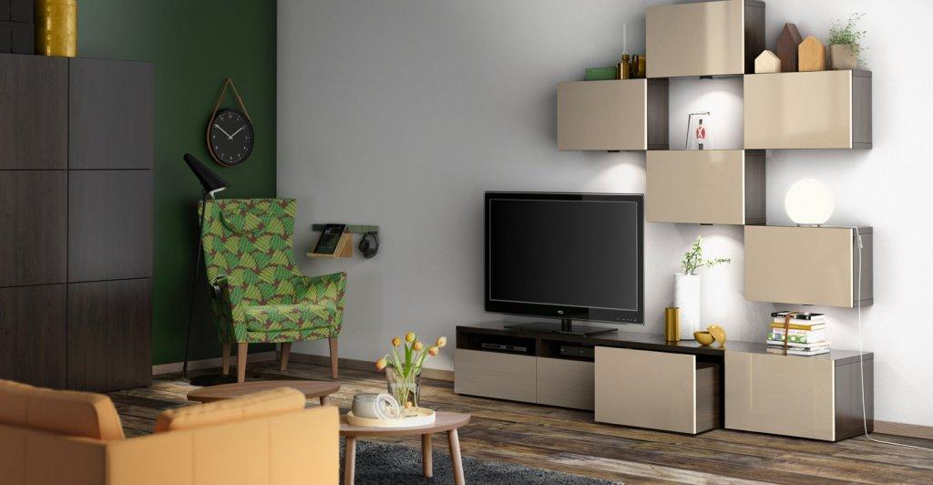 Wohnzimmer Ikea Besta Glänzend On Mit Wunderbar Ideen Inspiration Dekoideen 8