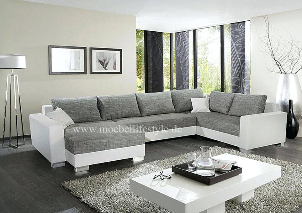 Wohnzimmer In Grau Weiss Schön On Bezug Auf Einrichten Weis Braun 9