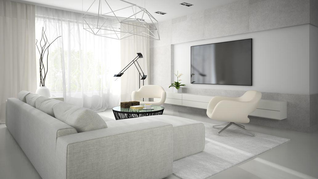 Wohnzimmer In Weiß Interessant On Für Einfach Beabsichtigt Sofas Hell 2