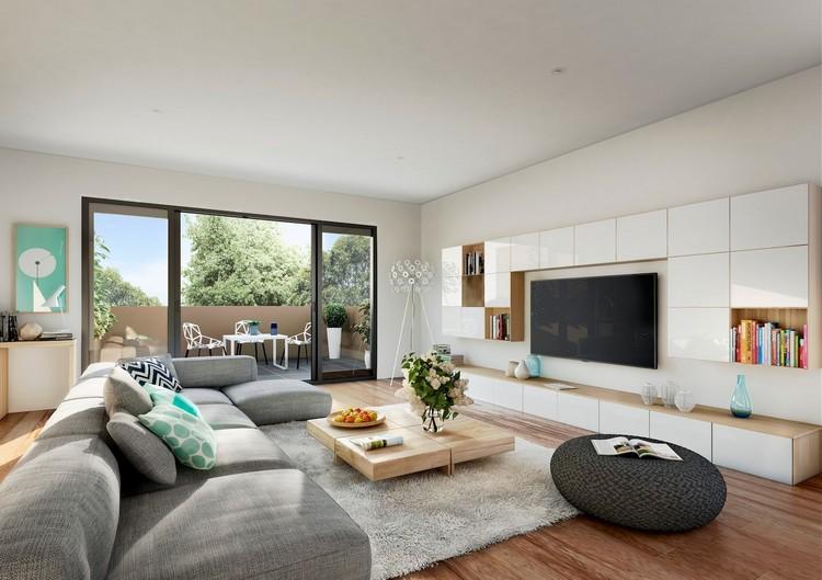 Wohnzimmer Interessant On Für 30 Schöne Ideen Und Tipps 9