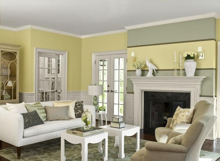 Wohnzimmer Mit Schöne Wandfarben Ausgezeichnet On Und Schone Imposing Farben 9