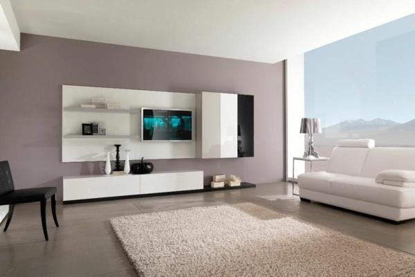 Wohnzimmer Mit Schöne Wandfarben Einfach On Beabsichtigt Für 8