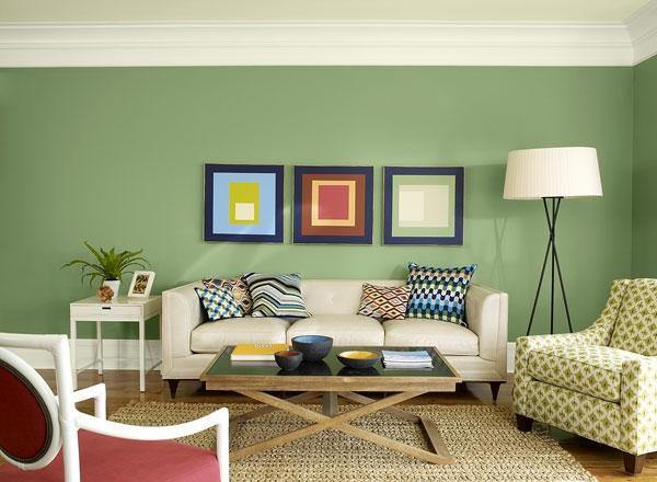 Wohnzimmer Mit Schöne Wandfarben Glänzend On Auf Moderne 40 Trendige Beispiele Archzine Net 2
