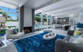 Wohnzimmer Modern Blau