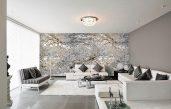 Wohnzimmer Modern Grau