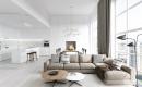 Wohnzimmer Modern Grau Zeitgenössisch On In Beige Design 9