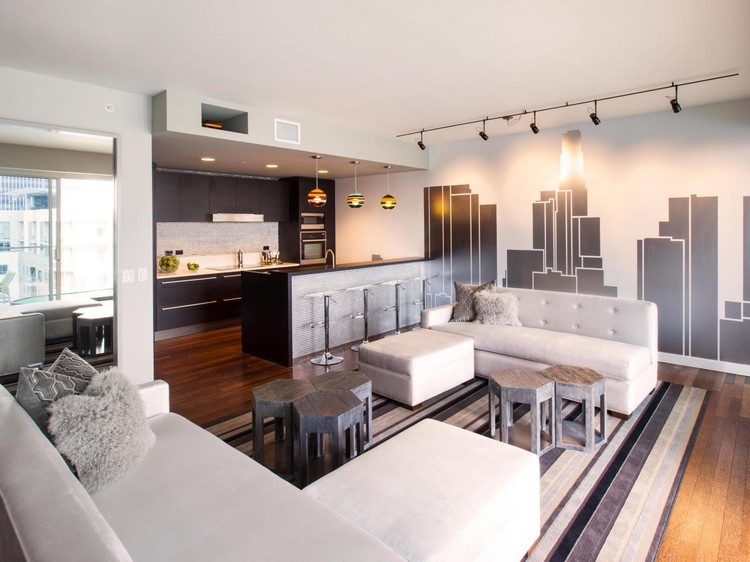 Wohnzimmer Offen Gestaltet Stilvoll On Auf Und Küche In Einem Raum Gestaltungsideen 4
