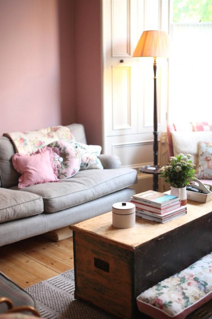 Wohnzimmer Romantisch Frisch On Auf Ideen Tolles Blumentapete 373 Bilder 7