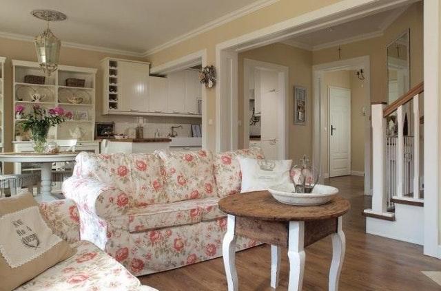 Wohnzimmer Romantisch Glänzend On Und Wohnen 31 Shabby Chic Polstersofa 5