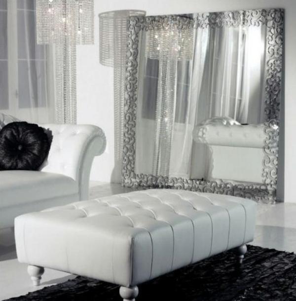 Wohnzimmer Silber Einfach On überall Nett In Grau Tapete ...