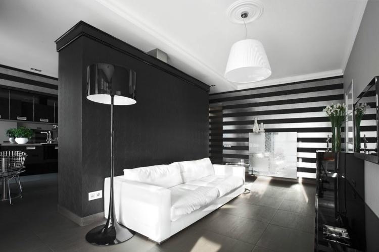 Wohnzimmer Silber Streichen Großartig On Auf Modern Streifen Govconip Com 9