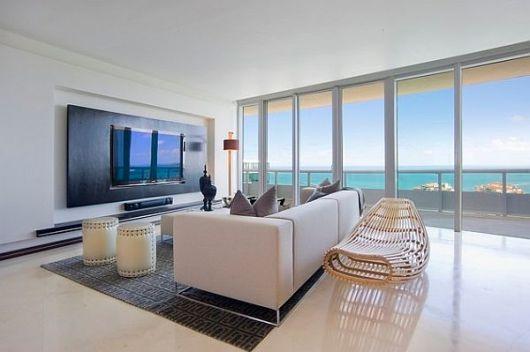 Wohnzimmer Wand Luxus Herrlich On Mit For Designs Design 33 Moderne TV Wandpaneel 8