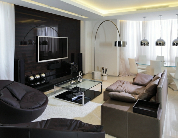 Wohnzimmer Wand Luxus Kreativ On Auf Cabiralan Com 1