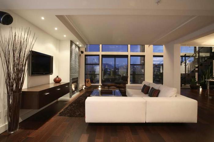 Wohnzimmer Wand Luxus Perfekt On Für Interessant überall 81 Zum 6
