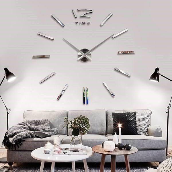 Wohnzimmer Wanduhr Einfach On In Bezug Auf Design Modern Dekoration 6