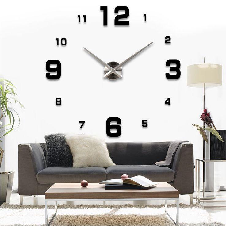Wohnzimmer Wanduhr Stilvoll On Auf Uhr Retro Wandtattoo Cubes Com Best 8