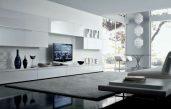 Wohnzimmer Weiß Modern