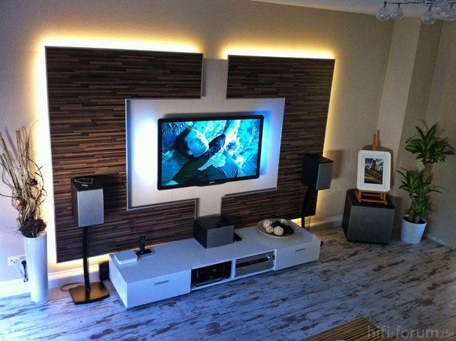 Wohnzimmerwand Ideen Bemerkenswert On Innerhalb Die Besten 25 Tv Wand Auf Pinterest 5