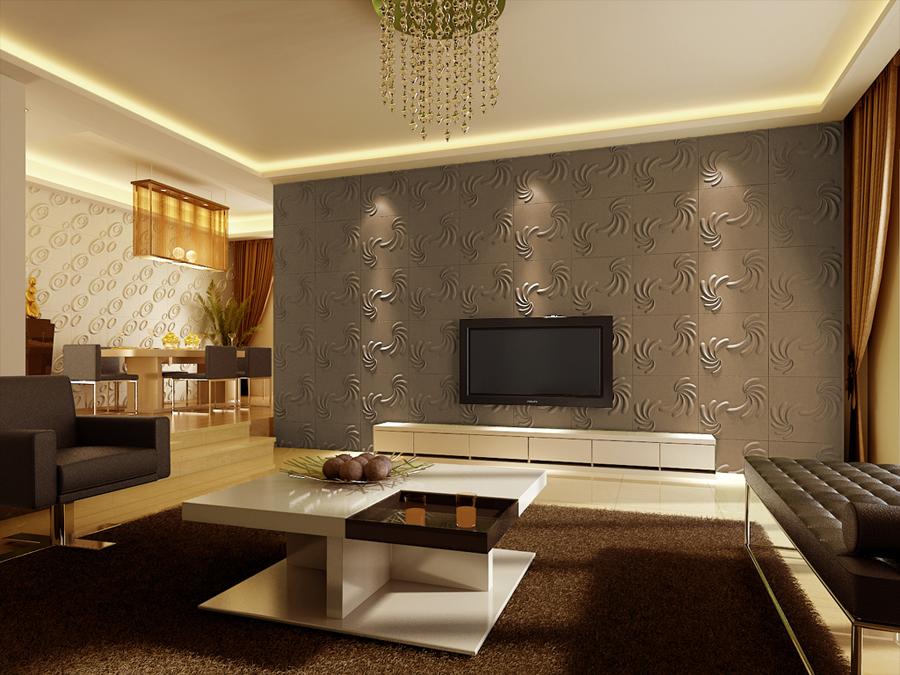 Wohnzimmerwand Ideen Schön On Auf Wohnzimmer Design Wand Beautiful Home 8
