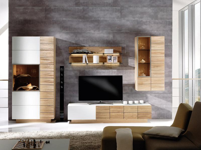 Wohnzimmerwände Modern Nett On Für Lecker Moderne Wohnzimmerwand 5 Amocasio Com 2