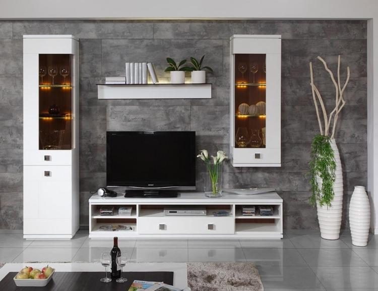 Wohnzimmerwände Modern Wunderbar On Innerhalb 30 Ideen Streichen Und Gestalten 8