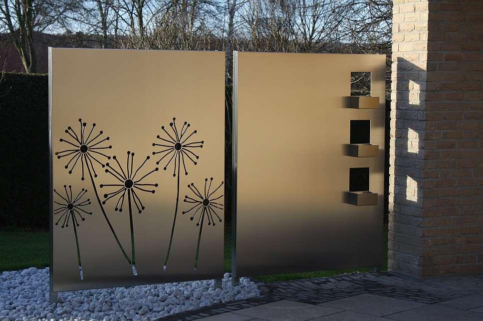 Wunderbar On Andere In Zäune Sichtschutz Steinbach Gartengestaltung 1