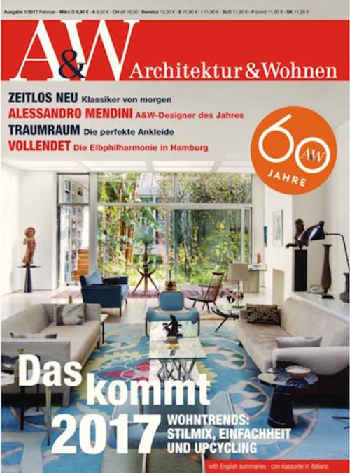 Architektur Und Wohnen Stilvoll On Andere Mit A W Abo Abonnement 1