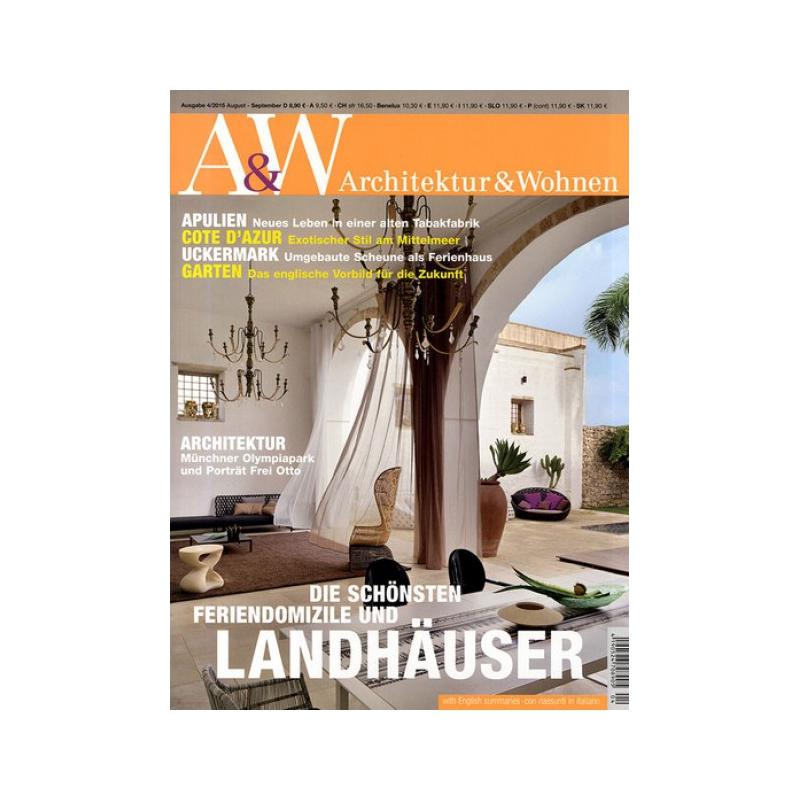 Architektur Und Wohnen Wunderbar On Andere überall A W Zeitschriften Co Lesen Was Gefäl 7