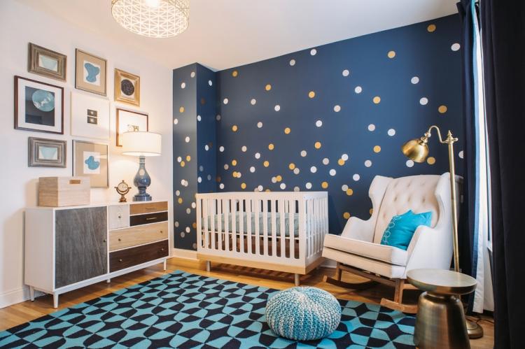 Baby Zimmer Deko Junge Fein On Andere Und Die Besten 25 Ideen Für Babyzimmer Kreative Wandgestaltung 2