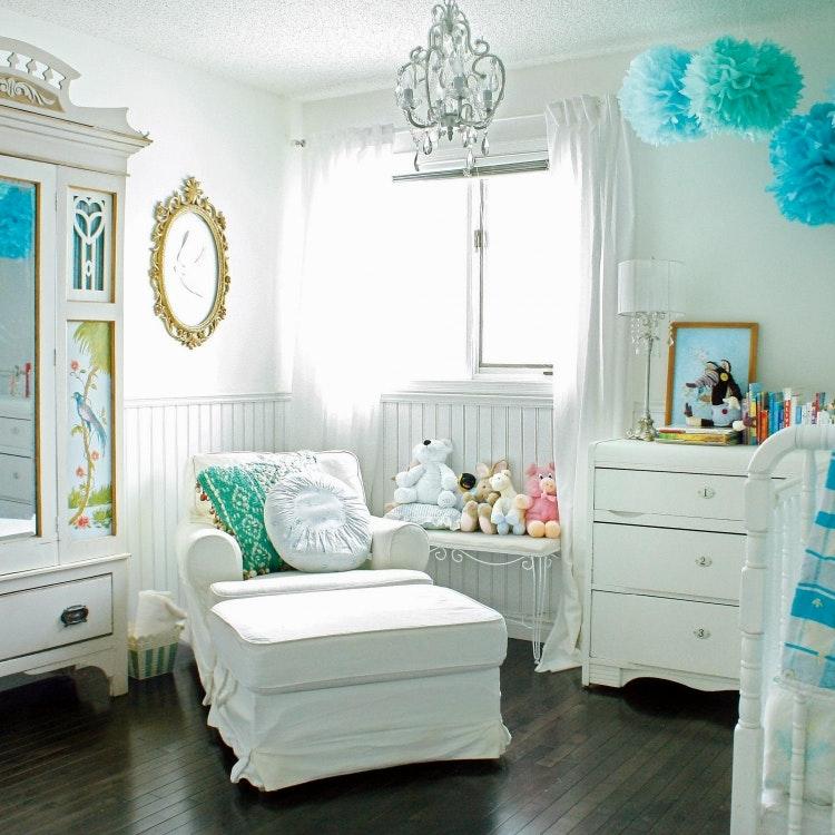 Baby Zimmer Deko Junge Unglaublich On Andere In Wohnkultur Babyzimmer Wohnideen Weiss Antik Vintage Moebel 7