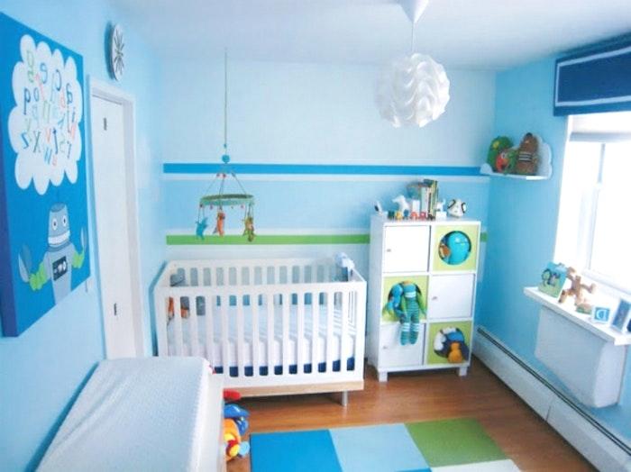 Babyzimmer Für Jungs Nett On Andere Beabsichtigt Sammlung Schlafzimmer Wandfarbe Konzeption 4