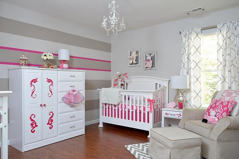 Babyzimmer Mädchen Exquisit On Andere Auf Einrichten Ideen Mudchen Fur Baby Kinderzimmer 9