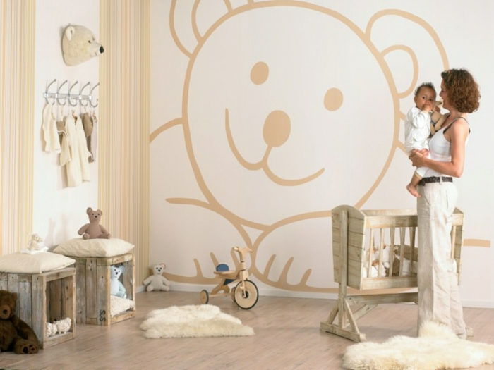 Babyzimmer Neutral Gestalten Ausgezeichnet On Andere Beabsichtigt Neutrale Farben Passen Für Mädchen Und 6