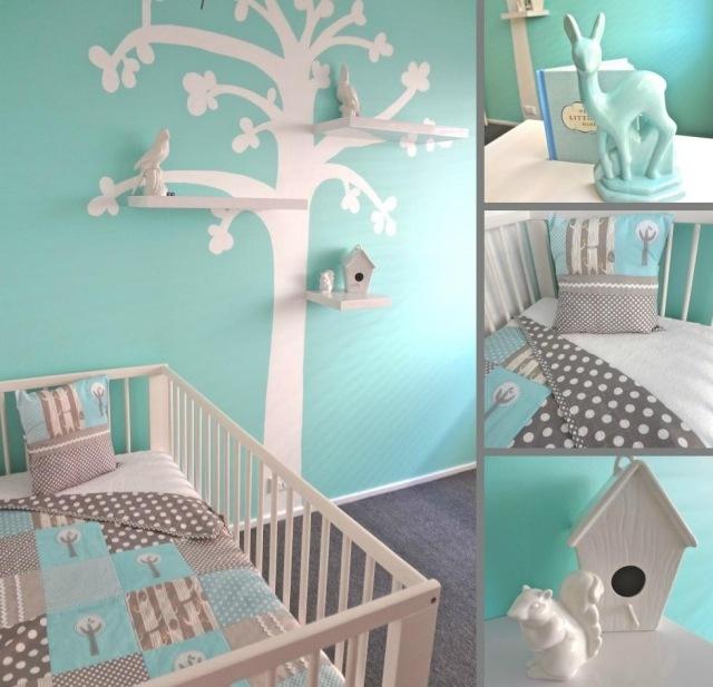 Babyzimmer Wandgestaltung Beispiele Neutral Einzigartig On Andere Auf Mit 9