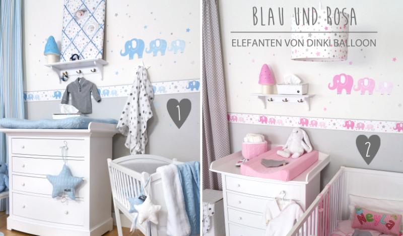 Babyzimmer Wandgestaltung Beispiele Neutral Frisch On Andere In Fur Innen Und Aussen 4