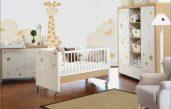 Babyzimmer Wandgestaltung Beispiele Neutral
