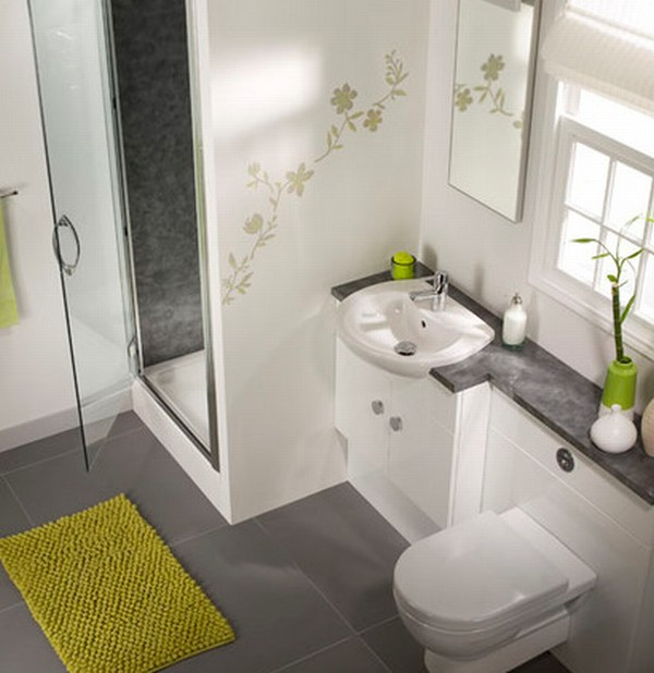 Bad Grau Weiß Gefliest Exquisit On Andere Auf Badezimmer 50 Ideen Für In 9