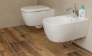 Bad Holzoptik Glänzend On Andere In Bezug Auf Badezimmer Bodenfliesen Wohndesign 9