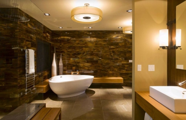 Bad Mit Holz Einfach On Andere In Bezug Auf Badezimmer Aus Tagify Us 6