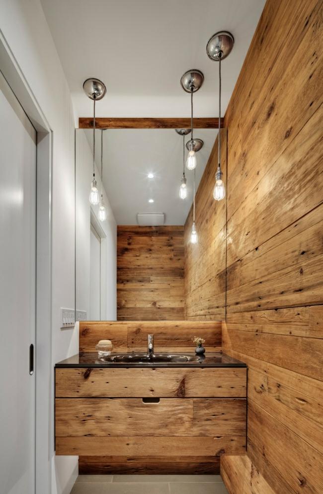 Bad Mit Holz Erstaunlich On Andere Und Aus Gestalten Ideen Für Rustikale Badeinrichtung 7