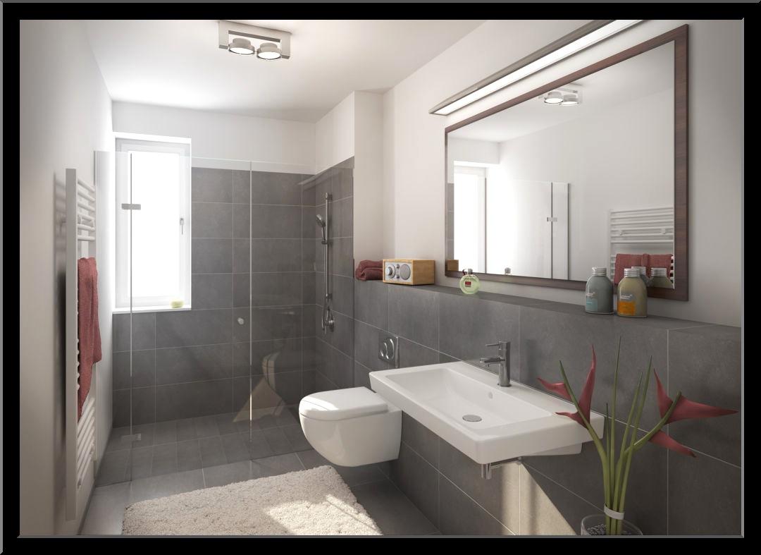 Bad Neu Gestalten Modern On Andere Mit Erstaunlich Einfach Badezimmer Wohndesign 1