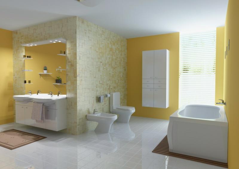 Bad Wand Farbe Erstaunlich On Andere Und Streichen Ist Spezielle Im Badezimmer Notwendig 6