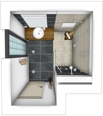 Badeinrichtung Kleines Bad Imposing On Andere Und Zum Traumbad Ideen Fr Ein Für 5