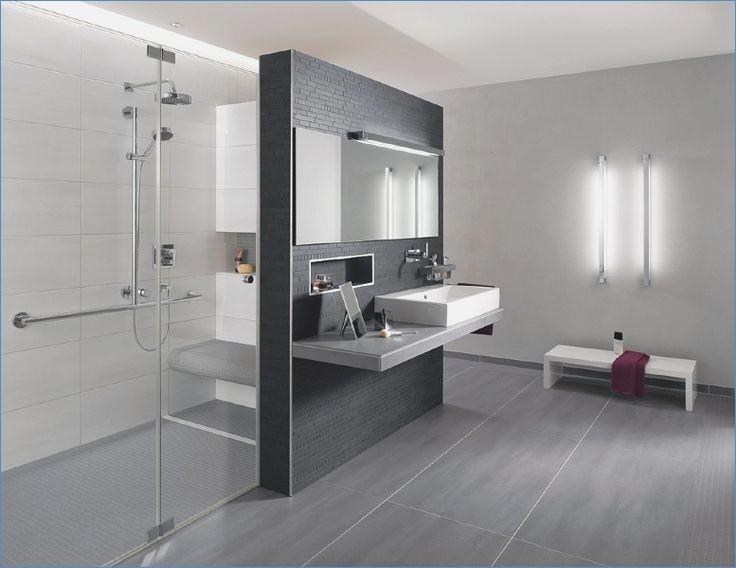 Badfliesen Grau Zeitgenössisch On Andere In Badezimmer Design 18 Graue Fliesen For Designs Ehrf C3 2