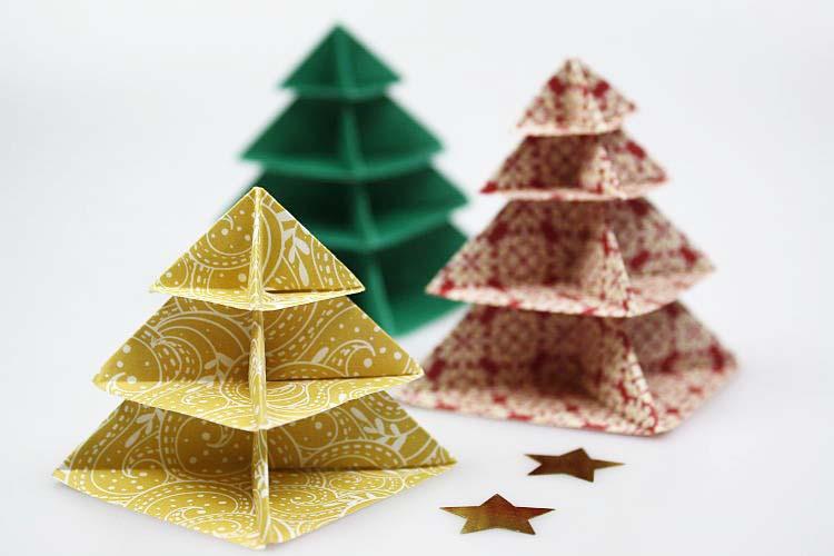 Basteln Herrlich On Andere Auf Origami Weihnachten 3