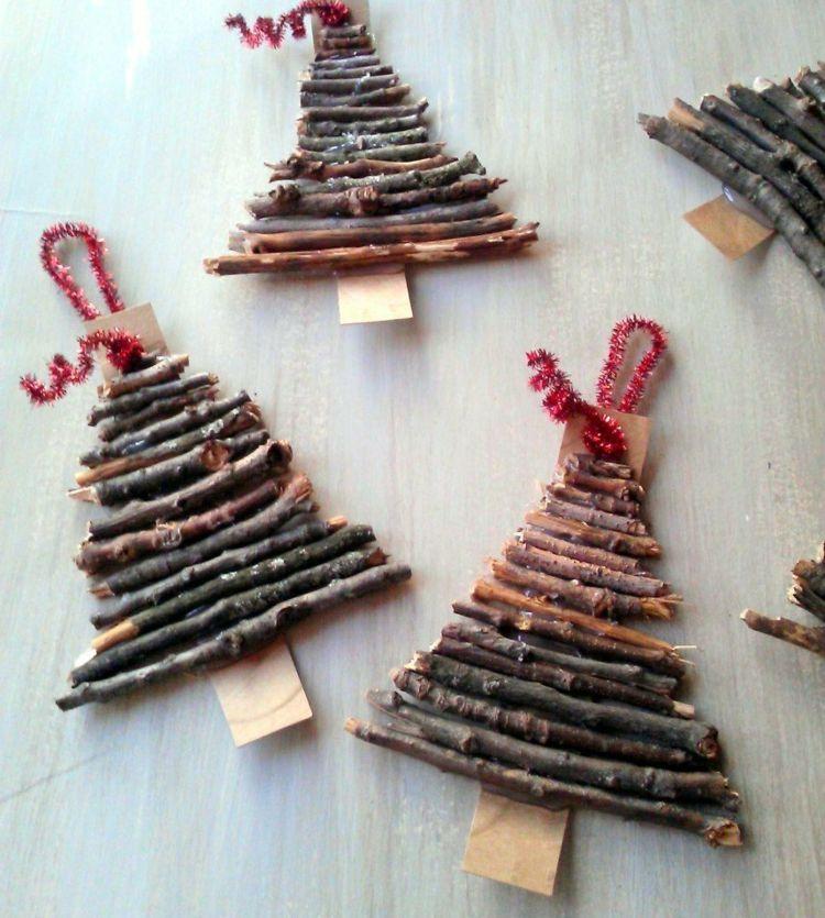 Basteln Perfekt On Andere Beabsichtigt Zu Weihnachten Mit Naturmaterialien Ideen Für Den Kindi 1