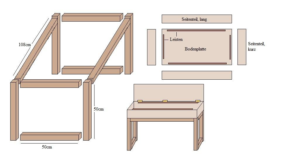 Bauanleitung Schrank Selber Bauen Einfach On Andere In Bezug Auf Gartentisch Bauplan 5