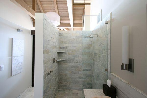 Begehbare Dusche Unglaublich On Andere Mit Glasabtrennung Funktional Voll Im Trend 7